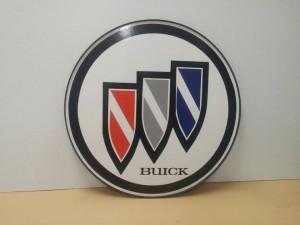 24inch plastic sign Buick tri-shield