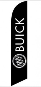 BUICK 12ft Feather Banner Swooper Flag
