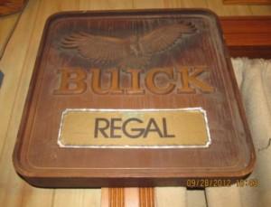 buick regal hawk sign