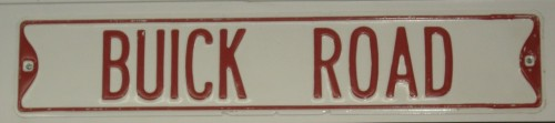 buick road sign
