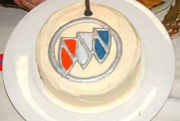 Celebrate With a Buick Cake!