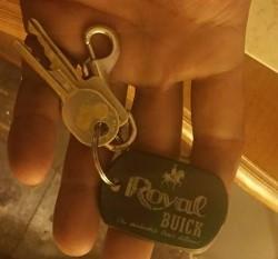 royal buick dealership key chain