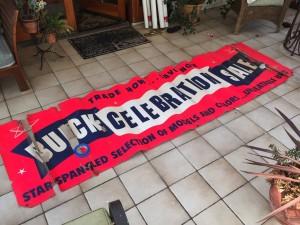 vintage buick celebration sale banner