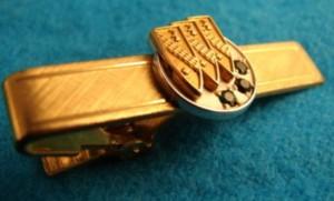 1960s Buick Employee Tie Bar 12K Gold Service Award