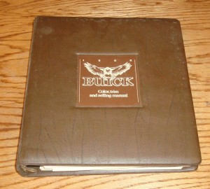 1982 Buick Color Trim & Selling Manual 1