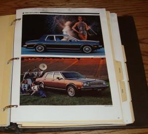 1982 Buick Color Trim & Selling Manual 3