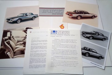 1982 Buick Grand National Press Kit