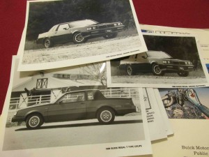 1984 Buick Press Kit 3