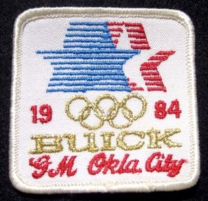 1984 buick olympic patch GM okla city