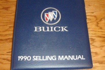 1989 & 1990 Buick Selling Manual