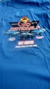 2013 buick gs nationals shirt