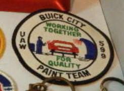 buick city paint team patch