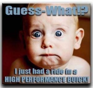 high performance buick