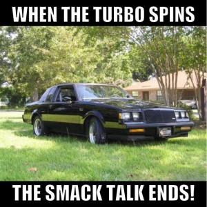 no smack talk