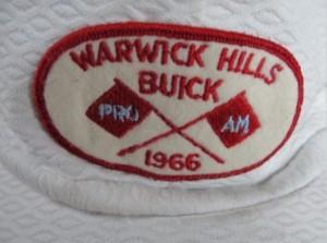 1966 Warwick Hills Buick Open Pro Am Hat