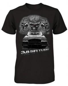 3.8 buick skulls shirt