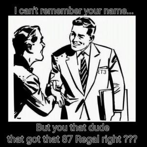 87 regal