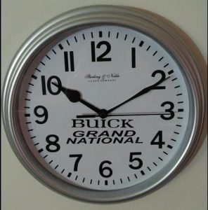 Buick Grand National custom wall clock