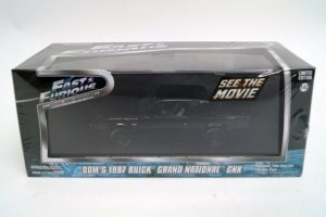 GREENLIGHT BUICK GRAND NATIONAL FAST AND FURIOUS 1-43 5