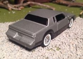 gray Buick Grand National white wall tires custom