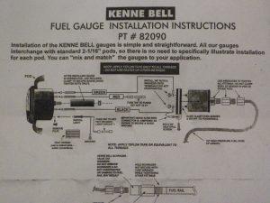 Kenne Bell Fuel Pressure Gauge 2
