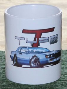 buick t type coffee cup