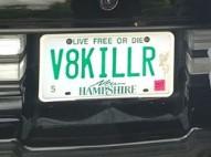 v8killer plate