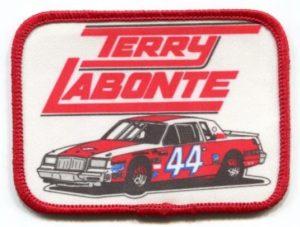 1981 terry labonte nascar regal stock car patch