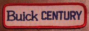 buick century patch
