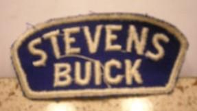 stevens buick jacket patch