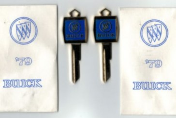 Vintage Buick Keys & Key Rings