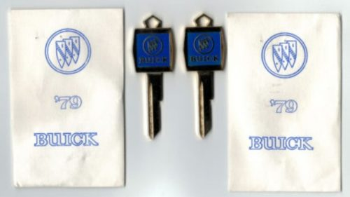 1979-oem-buick-keys