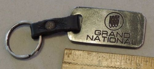 buick-grand-national-triple-shield-key-chain