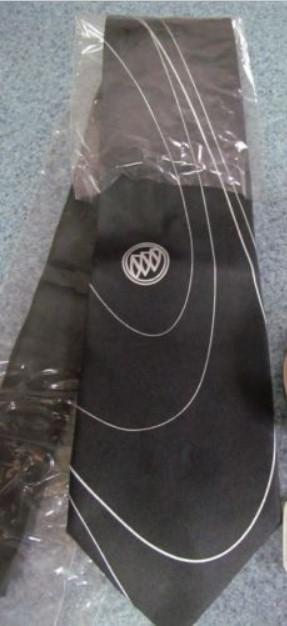 buick tri shield silk tie
