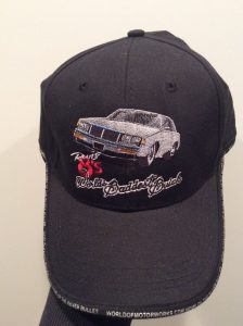 buick grand national silver bullet embroidered hat