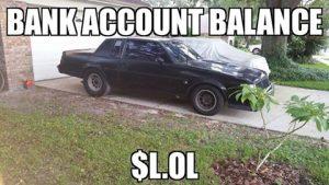 buick bank account