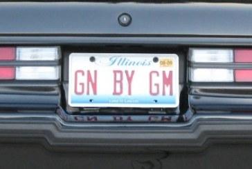 Creative Buick Vanity Plates