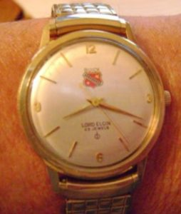 14K GOLD BUICK MOTOR DIVISION WATCH 25 YR SERVICE 1