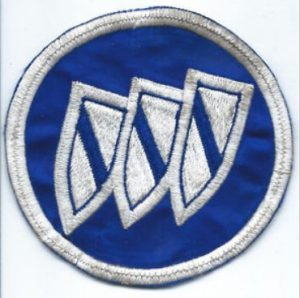 1970s buick triple shield patch