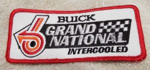 1987 buick grand national intercooled patch
