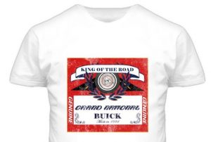 BUICK GRAND NATIONAL king of the road shirt