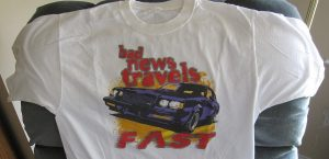 bad news travels fast Buick Grand National shirt
