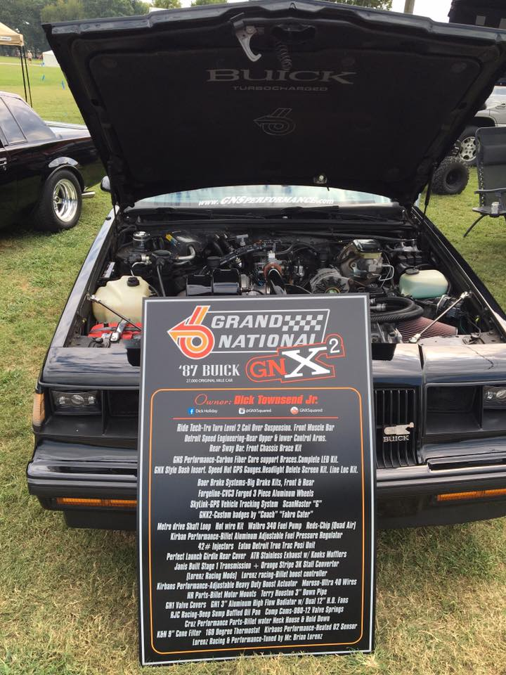 Buick Car Show Display Boards - Car show display boards