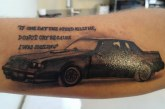Buick Turbo 6 Inspired Tattoos
