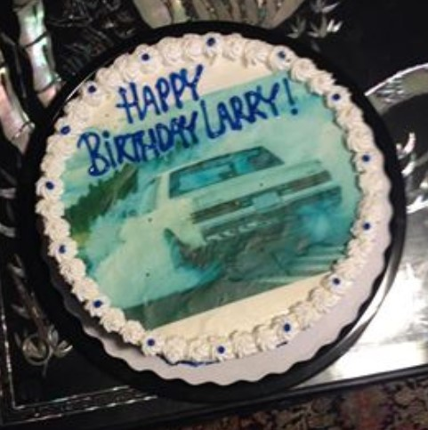 buick t-type birthday cake