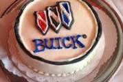 Buick Inspired Birthday Cakes