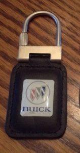 buick triple shield logo key fob