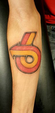 buick turbo 6 arrow emblem arm tattoo