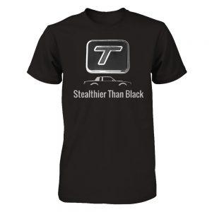 stealthier than black shirt