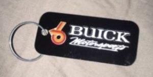 Buick Motorsports turbo 6 Keychain